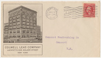 Colwell Lead Company. Envelope