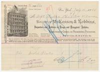 McKesson & Robbins, bill or receipt