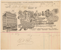 S. F. Myers & Co. Bill or receipt