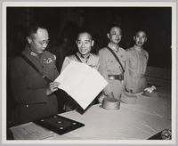 Ho Ying Chin Signing Surrender: recto