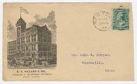 E. C. Hazard & Co., envelope