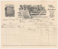S. F. Myers & Co. Bill or receipt