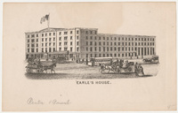 Earle's House. Card stock
