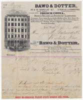 Bawo & Dotter, bill or receipt