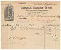 Lazell, Dalley & Co., bill or receipt