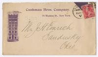 Cushman Bros. Company, envelope