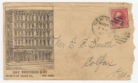 Gay Brothers & Company, envelope