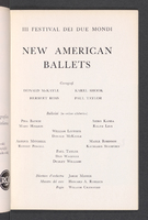 New American Ballets : Page [11]