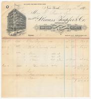 Strauss, Kupfer & Co., bill or receipt