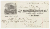 Havemeyer, Townsend & Co., bill or receipt