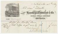 Havemeyer, Townsend & Co., bill or receipt