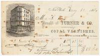 Turner & Co., bill or receipt