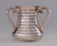 Silver presentation cup