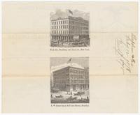 Baldwin the Clothier, bill or receipt