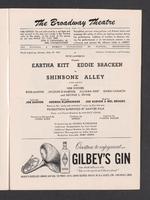 Shinbone Alley Playbill : Page [7]