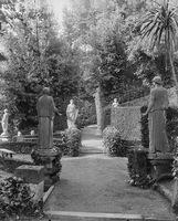 Colonna Gardens, statuary. Rome, Italy.