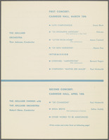 Two Concerts of Music of the Twentieth Century, page 3