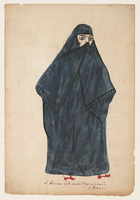 Persian lady veiled to go abroad