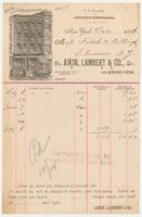 Aikin, Lambert & Co. Bill or receipt