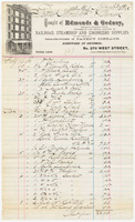 Edmonds & Gedney, bill or receipt
