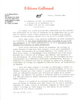 Festin Nu, accompanying letter