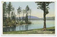 Fourth Lake from Inlet, Adirondack Mountains, N.Y.