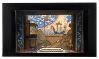 "Set model for ""Abduction from the Seraglio"" (Mozart/Stephani), Metropolitan Opera; New York; 1946"
