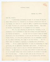 Typed letter, signed, to Alfred Butes