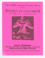 Angels at Columbia: Centennial Approaches flyer