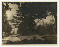 Photograph of Pulitzer home,Chatwold, Bar Harbor