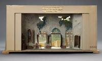 """Set model for """"Les Deux Trouvailles de Gallus,"""" Comedie Francaise, 1923"""
