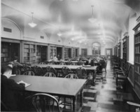 Reading Room of the School of Library Service