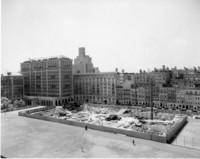 Butler Library Construction 1