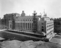 Butler Library Construction 24