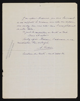 Autograph letter, signed by A. Rubin, page 2