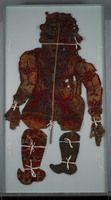 Indian shadow puppet