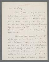 Autograph letter, signed, to Joseph Pulitzer, page 1