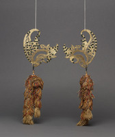 Two wings for Wayang Golek rod puppet