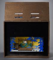"Set model for ""Machigai"" (""Mistake"") by Hakucho Masamune, Kase Troupe; Tokyo; 1965"