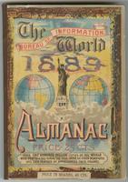 The World 1889 Almanac, front