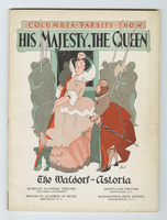 His Majesty, The Queen program cover
