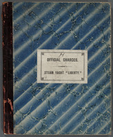Official Charges account book
