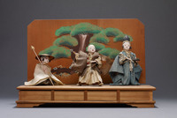 Japanese theater diorama