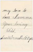Autograph letter, signed, to Joseph Pulitzer