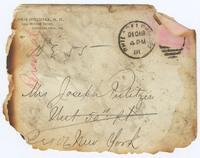 Envelope to Kate Davis Pulitzer
