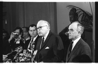 Kirk and Truman Press Conference