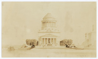 Drawing of Grant's Tomb