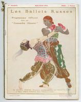 Ballets Russes Programme Officiel, front cover
