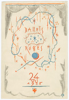 Sketch of a Program for Colonel W. de Basil's Ballets Russes de Monte Carlo