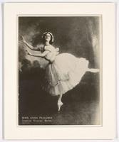 Mme. Anna Pavlowa, Imperial Russian Ballet